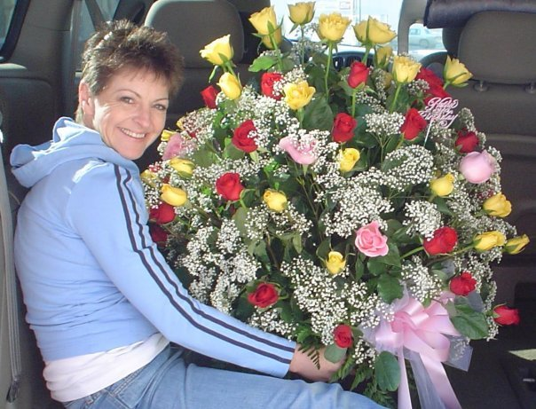 87 Roses Birthday Bouquet