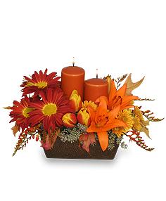 """Abundant Beauty"" Fall Centerpiece"
