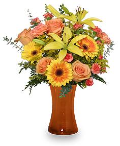 """Amber Sky"" Fall Flowers"