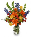 Send flowers from a real local florist