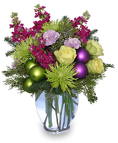 Contemporary Christmas Flowers
