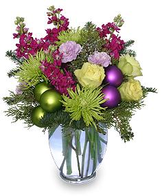 Contemporary Christmas Flowers