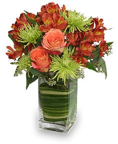 Contemporary Autumn Flowers