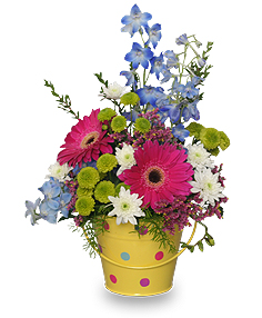 Whimsical Flowers Featuring Larkspur