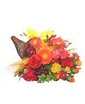 """Autumn Cornucopia"" of Flowers"