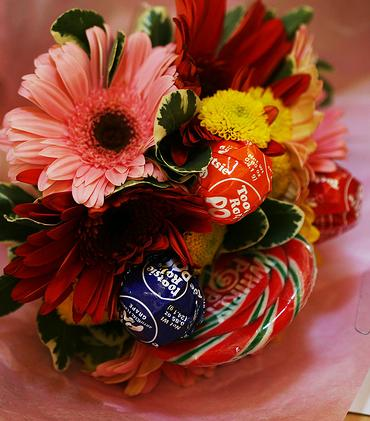 Candy in Bouquet