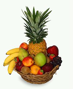 Canasta de Fruta Fresca Para El Dia de Los Padres