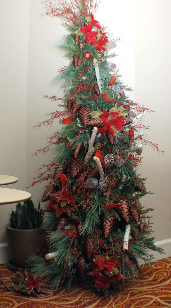 New England Themed Christmas Tree