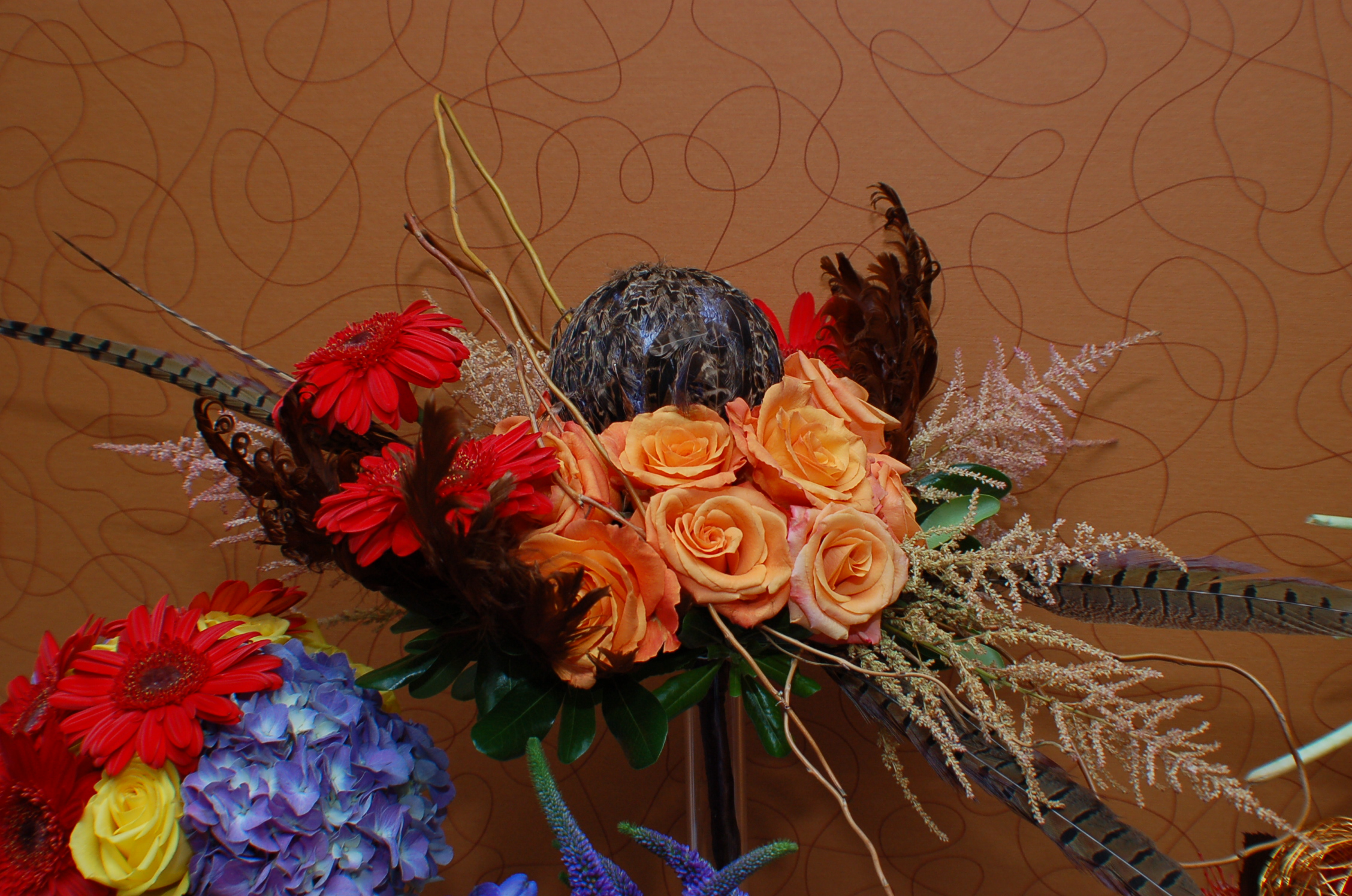 new fall color trends for floral design