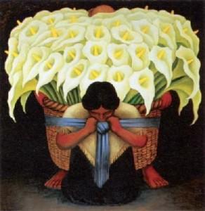 Diego Rivera Calla Lily