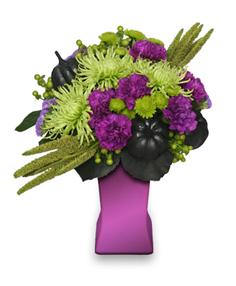 Hocus Pocus Halloween Floral Design