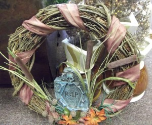 Creative Halloween Wreath