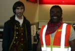 Lestat and Rescued Chilean Miner
