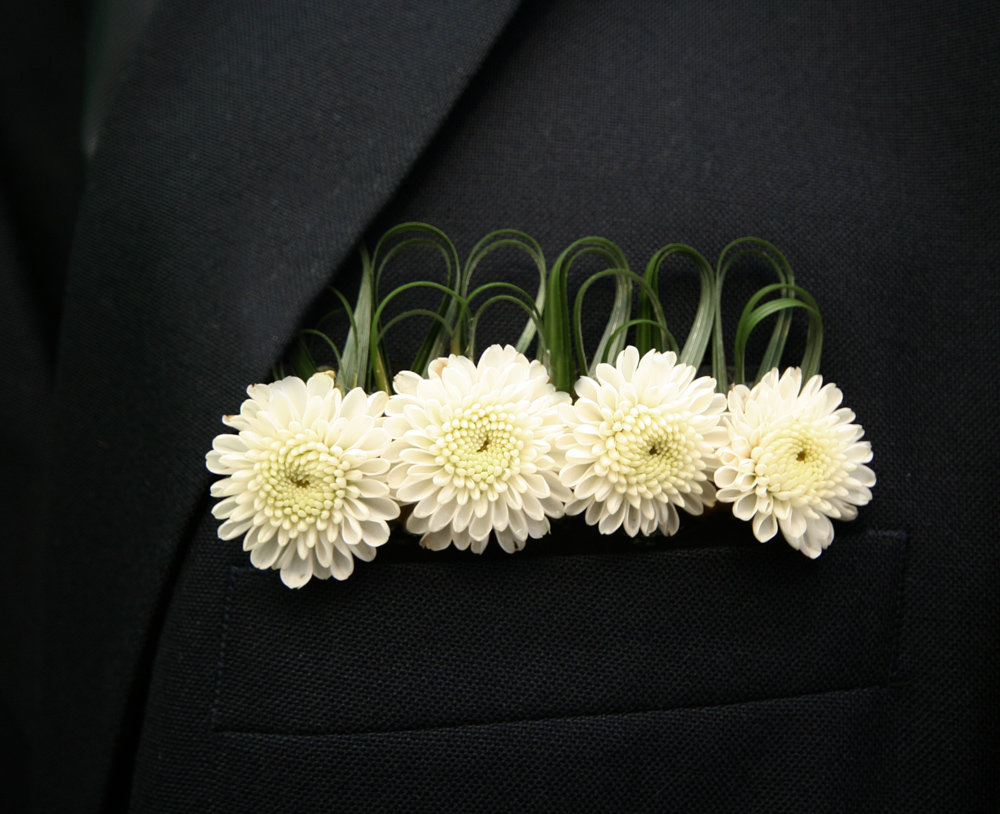 Trend Alert Pocket Squares Taking The Place Of Boutonnieres