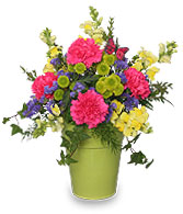 Pot of Posies Flower Arrangement