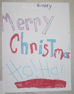 Christmas Card From Kinley