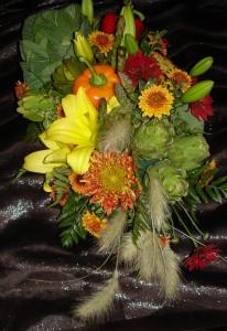 Flower Classes: Vegetable Centerpiece