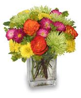 Neon Splash Bouquet