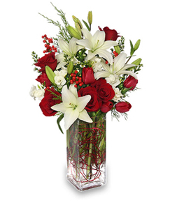 Send Christmas Flowers From Your Local Florist