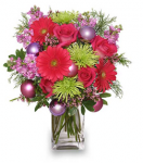Fun Christmas Flower Arrangement