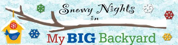 Snowy Nights at the Memphis Botanic Garden