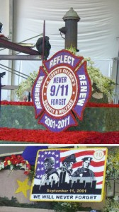 9/11 Tribute Float At The 2011 Tournament of Roses Parade