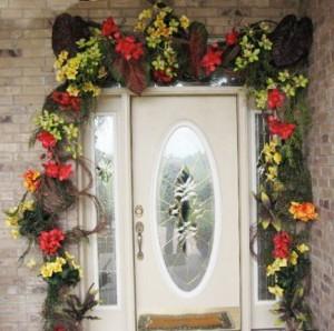 Floral Doorway Arch