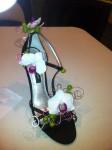 Floral Shoe Art