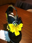 Shoe Art Flowers