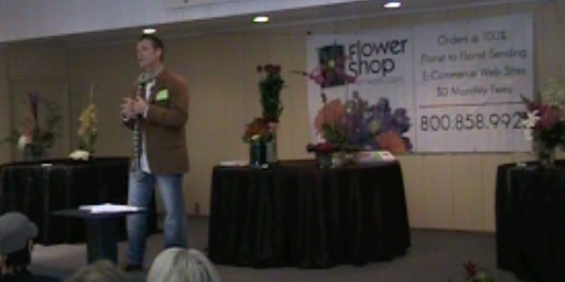 Anthony Swick Presenting For Flower Shop Network