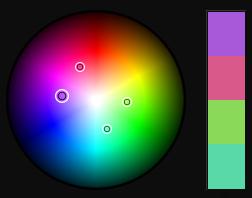 Purple Tetrad Colors