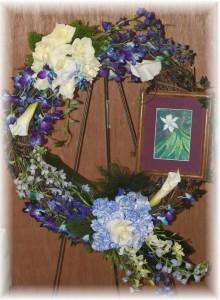 Artist Funeral Flowers
