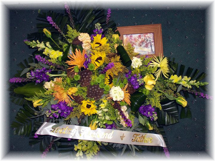 Artistic Funeral Flowers
