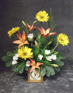 Bowling Sports Funeral Flowers