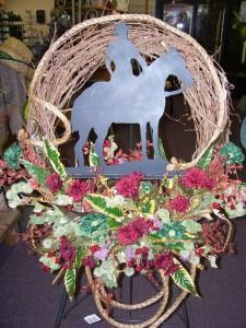 Cowboy Funeral Flowers