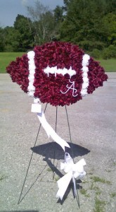 Football/Sports Funeral Flowers
