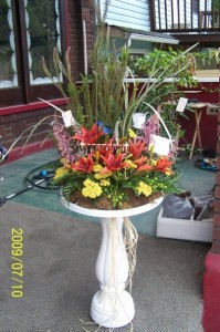 Garden/Gardener Funeral Flowers
