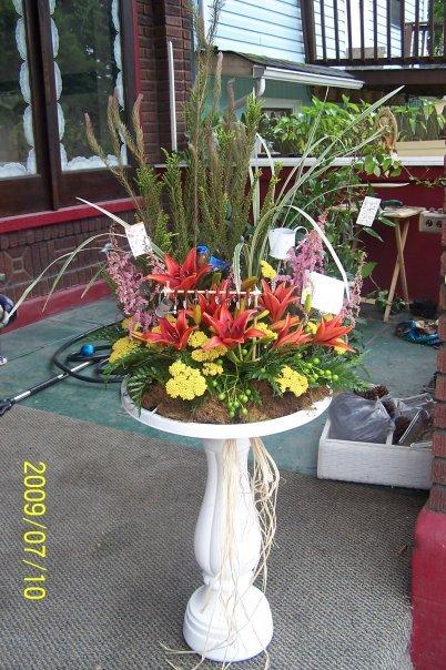 Garden Gardener Funeral Flowers
