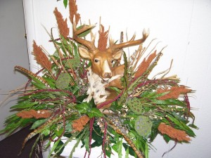 Deer Funeral Flowers For A Hunter