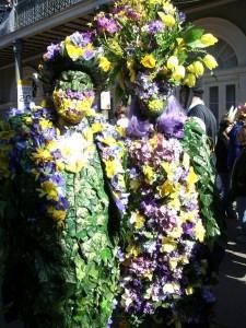 Mardi Gras Flower Costumes