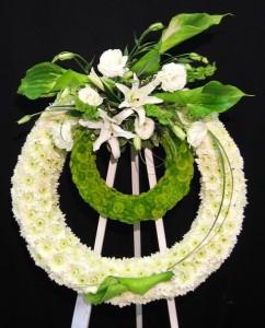 Modern Funeral Flowers