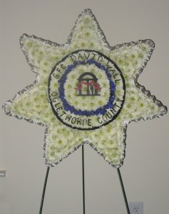 Police Funeral Flowers