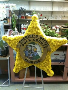Sheriff Funeral Flowers