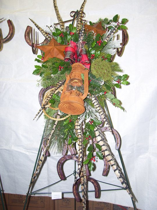 Red And Yellow Funeral Flower Arrangement
