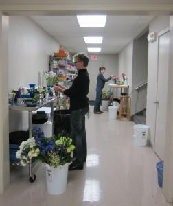 Florists Working Hard