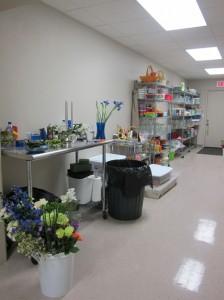 Florist Design Area