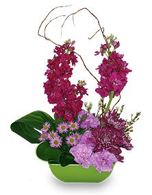 April Birthday Flower Arrangement