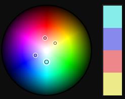 Aquamarine/Light Blue Color Scheme