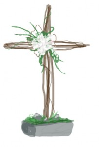 Easter Cross Flower Ideas