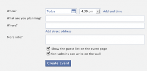 Facebook Events - Prom Promotion